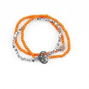 5 for $25! Paparazzi orange bracelet